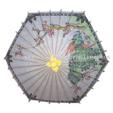 Paper and Silk Umbrella