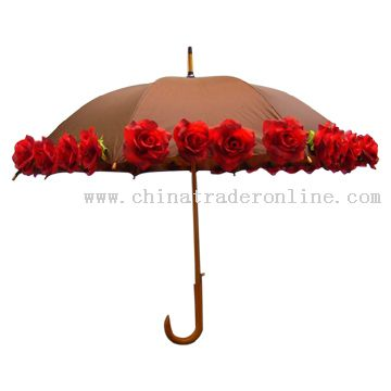 Rose Umbrella (Flower Umbrella)