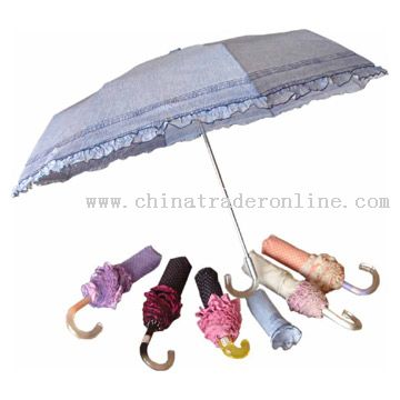 Three-Folded Umbrella