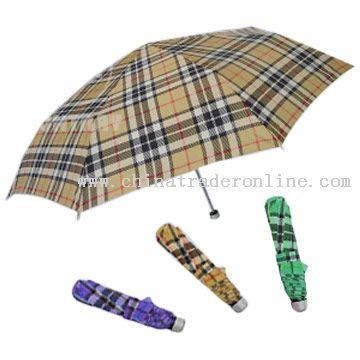 Three-Folded Umbrellas from China