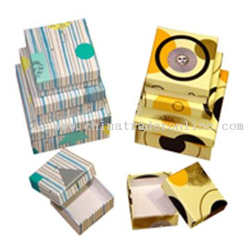 Display Gift Box, Case & Pouch