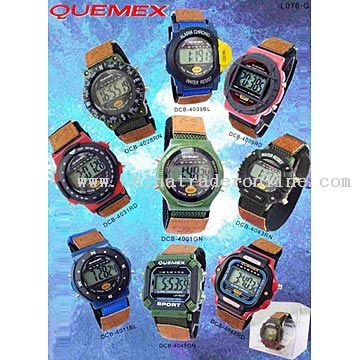 LCD Watches from China