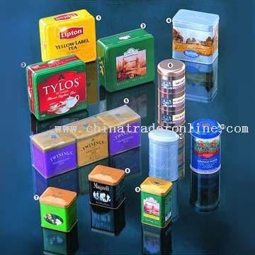 Tea Tin Cans
