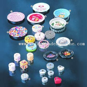 Tin Ashtrays and Pill Boxes
