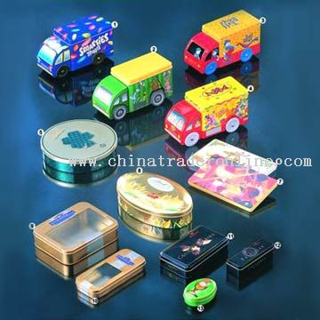 Tin Chocolate Boxes from China