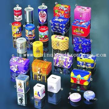 Tin Coin Banks