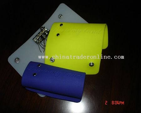 Silicone key wallet