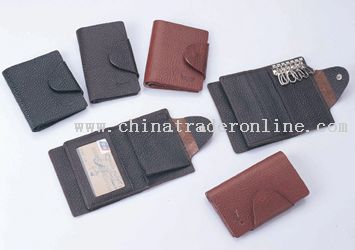 glossy surface name card wallet