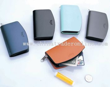 leisure small zipper wallet