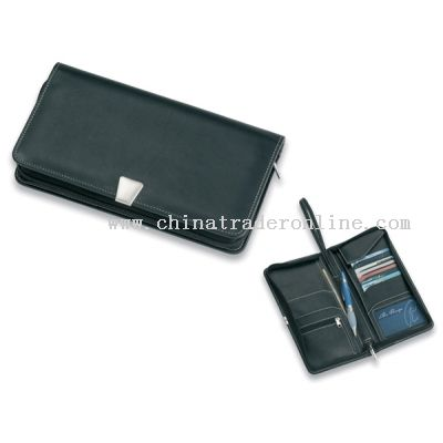 with wrist strap and provision for all your travel documents/ credit cards & travellers cheques.