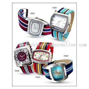 Canvas Band Watches
