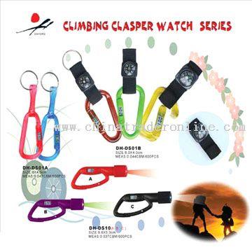 Climbing Clasper Watch