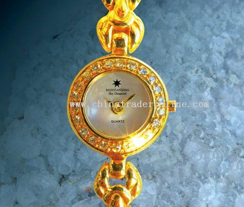 18K gold gentlewoman watch