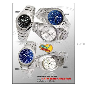 Mens Watch Gift Set with Pendant