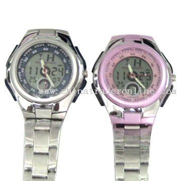 Multi-Functional LCD Watch