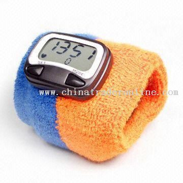 Heart Rate Monitor Watch Wrist Watch with Towel Strap and Heart Rate Monitor