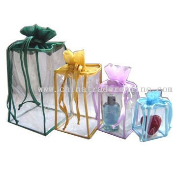 PVC Gift Bags from China