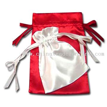 Satin Gift Pouches from China