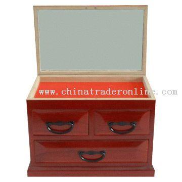 Wooden Dressing Case