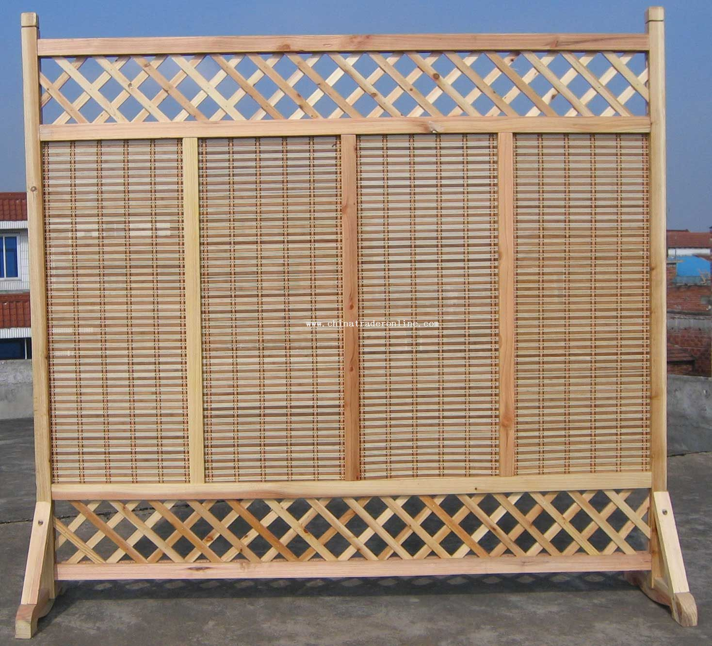 Eastern White Cedar Fence - Custom Cedar Wood Fencing