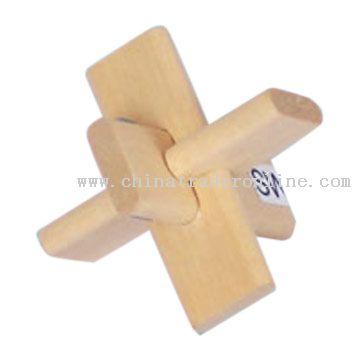 Wooden Toy (Lock)