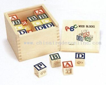 48 PCS ABC BLOCKS IN BOX