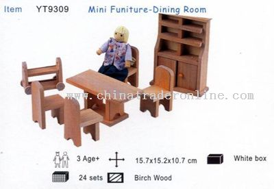Online Dining Furniture on Mini Furniture Dining Room