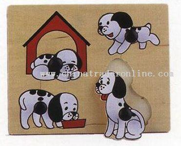 PUZZLE DOG FAMILY