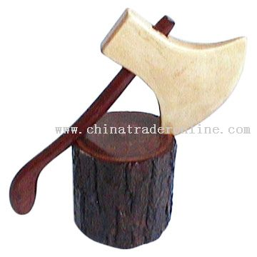 Wooden Axe Toy