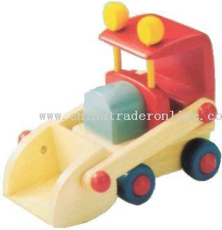Wooden EXCAVATOR Toys