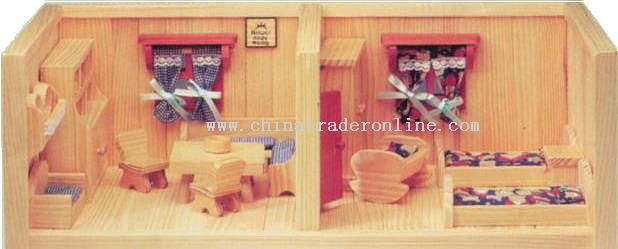 Wooden ROOM & DINING ROOM Toys