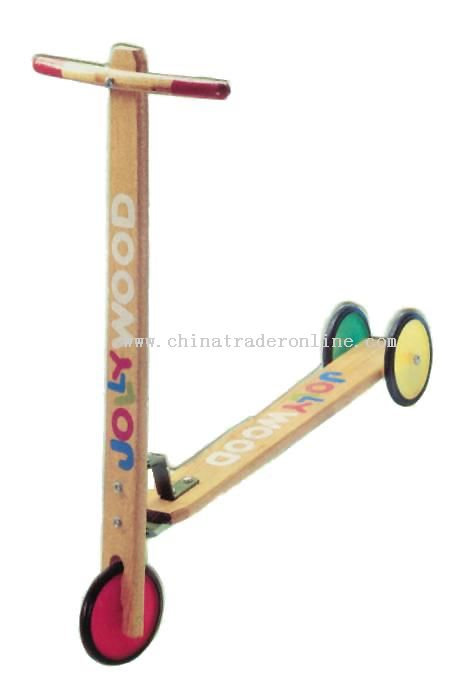 Wooden SCOOTER Toys from China