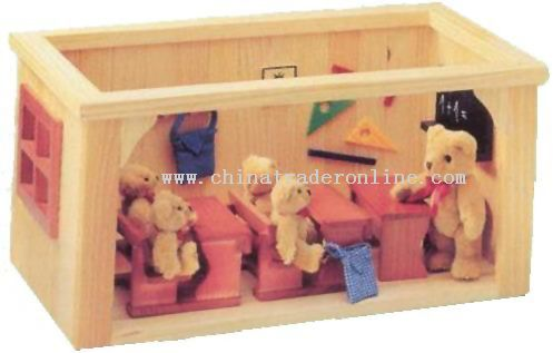 Wooden SMALL CLASSROOM Toys
