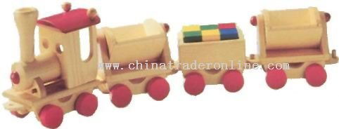 Wooden Train Toys from China