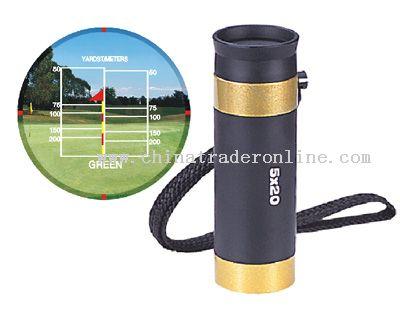 5x amplification Monocular style Golf range finder