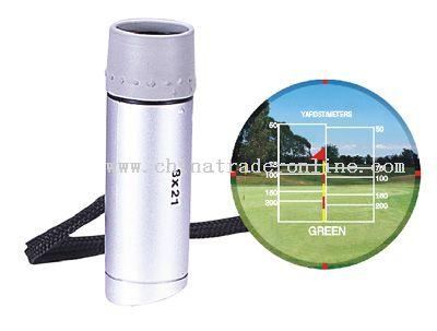 8x amplification Monocular style Golf range finder