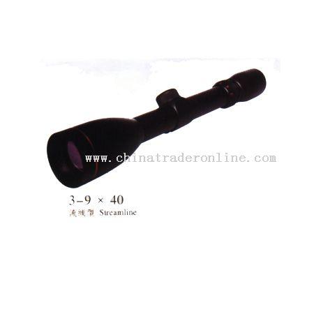 3-9x40 Riflescope from China