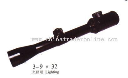 3-9x42 Riflescope from China
