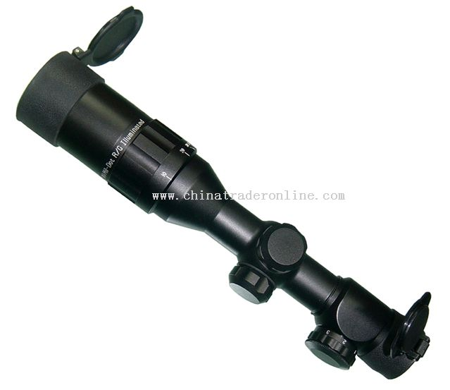4x32 red green laser riflescope from China