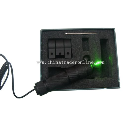 green laser riflescope