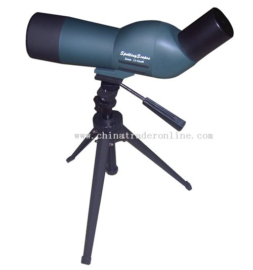 12-36*60 spotting scope