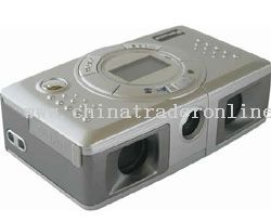 0.3 million pix Binocular Digital Camera