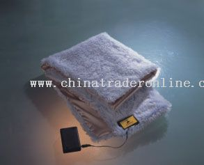 Battery heating blanket