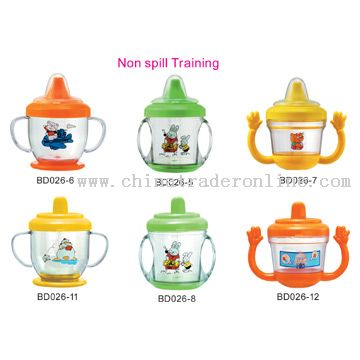 Non-Spill Training Cups