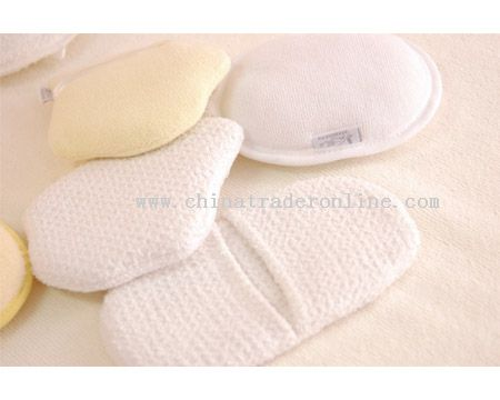 microfiber cosmetic sponge from China