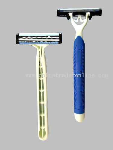 Triple blade stainless steel triple coated Razor from China