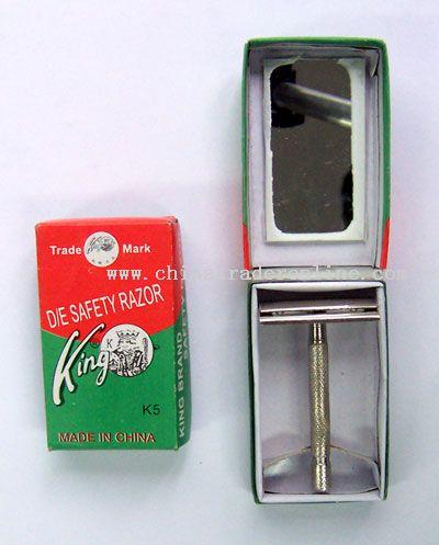 one iron handle w/z mirror in a small cardboard box