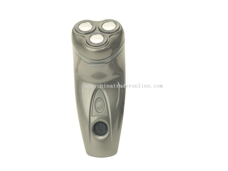 Individually floating triple head Shaver