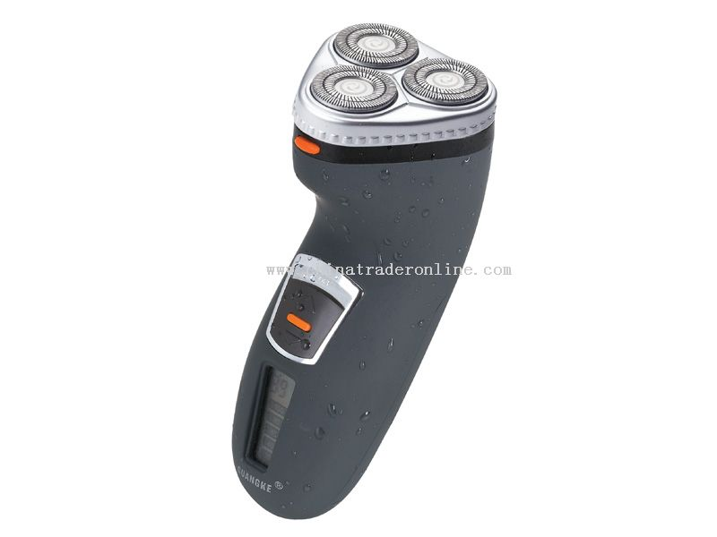 LCD shaver with washable function