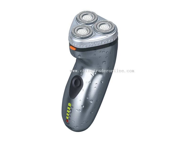 Rechargeable shaver with washable function